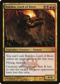 Rakdos, Lord of Riots, Magic: The Gathering, Return to Ravnica
