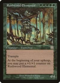 Rushwood Elemental, Magic: The Gathering, Mercadian Masques