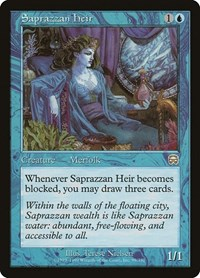 Saprazzan Heir, Magic, Mercadian Masques