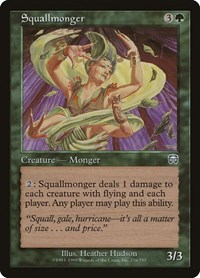 Squallmonger, Magic, Mercadian Masques