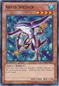 Abyss Soldier, YuGiOh, Structure Deck: Realm of the Sea Emperor