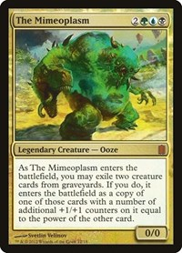 The Mimeoplasm, Magic: The Gathering, Commander's Arsenal