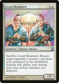 Loyal Retainers, Magic, Commander's Arsenal