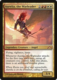 Aurelia, the Warleader, Magic, Gatecrash