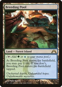 Breeding Pool, Magic: The Gathering, Gatecrash