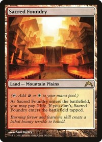 Sacred Foundry, Magic: The Gathering, Gatecrash
