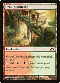 Gruul Guildgate, Magic: The Gathering, Gatecrash