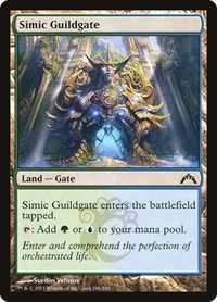 Simic Guildgate, Magic: The Gathering, Gatecrash