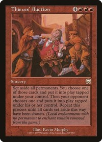 Thieves' Auction, Magic: The Gathering, Mercadian Masques