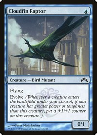 Cloudfin Raptor, Magic: The Gathering, Gatecrash