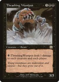 Thrashing Wumpus, Magic: The Gathering, Mercadian Masques