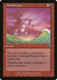 Thunderclap, Magic: The Gathering, Mercadian Masques