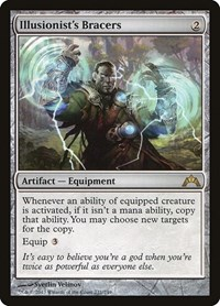 Illusionist's Bracers, Magic: The Gathering, Gatecrash