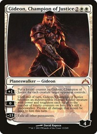 Gideon, Champion of Justice, Magic, Gatecrash