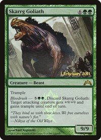 Skarrg Goliath, Magic: The Gathering, Launch Party & Release Event Promos
