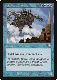 Tidal Kraken, Magic: The Gathering, Mercadian Masques
