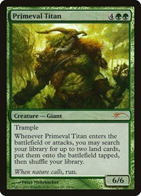 Primeval Titan, Magic: The Gathering, Grand Prix Promos