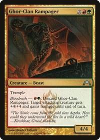 Ghor-Clan Rampager, Magic, Gatecrash