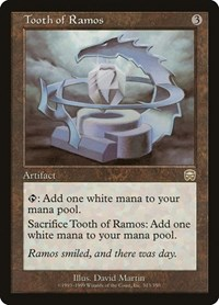 Tooth of Ramos, Magic: The Gathering, Mercadian Masques
