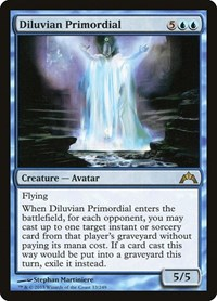 Diluvian Primordial, Magic: The Gathering, Gatecrash