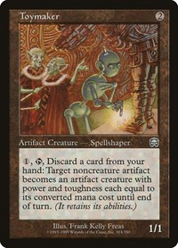 Toymaker, Magic: The Gathering, Mercadian Masques