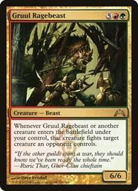 Gruul Ragebeast, Magic: The Gathering, Gatecrash