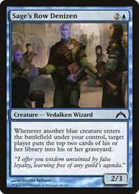 Sage's Row Denizen, Magic, Gatecrash