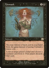 Unmask, Magic: The Gathering, Mercadian Masques