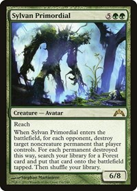 Sylvan Primordial, Magic: The Gathering, Gatecrash
