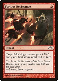 Furious Resistance, Magic: The Gathering, Gatecrash