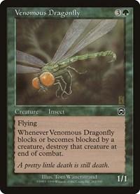 Venomous Dragonfly, Magic, Mercadian Masques