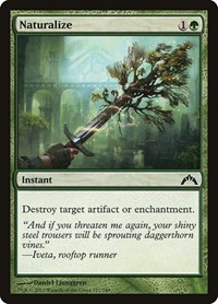 Naturalize, Magic: The Gathering, Gatecrash