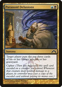 Paranoid Delusions, Magic: The Gathering, Gatecrash