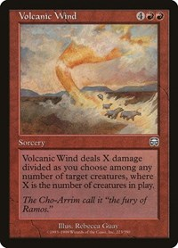 Volcanic Wind, Magic: The Gathering, Mercadian Masques