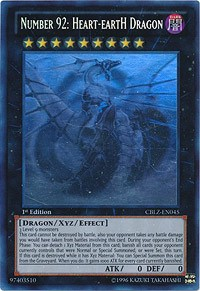 Number 92: Heart-eartH Dragon, YuGiOh, Cosmo Blazer