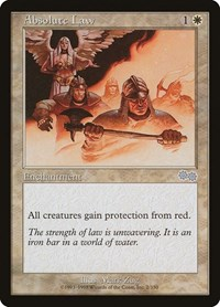 Absolute Law, Magic: The Gathering, Urza's Saga