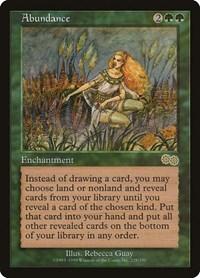 Abundance, Magic: The Gathering, Urza's Saga