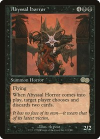 Abyssal Horror, Magic, Urza's Saga