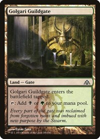 Golgari Guildgate, Magic: The Gathering, Dragon's Maze