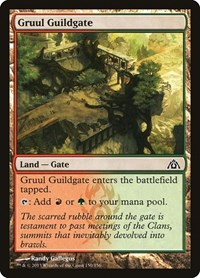 Gruul Guildgate, Magic: The Gathering, Dragon's Maze