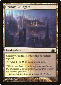 Orzhov Guildgate, Magic: The Gathering, Dragon's Maze