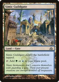 Simic Guildgate, Magic: The Gathering, Dragon's Maze