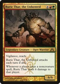 Ruric Thar, the Unbowed, Magic: The Gathering, Dragon's Maze