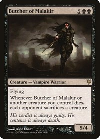 Butcher of Malakir, Magic: The Gathering, Duel Decks: Sorin vs. Tibalt