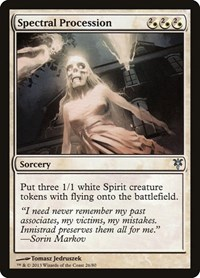 Spectral Procession, Magic, Duel Decks: Sorin vs. Tibalt