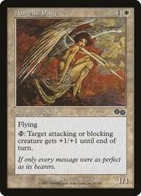 Angelic Page, Magic: The Gathering, Urza's Saga