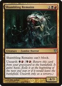 Shambling Remains, Magic: The Gathering, Duel Decks: Sorin vs. Tibalt