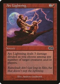 Arc Lightning, Magic: The Gathering, Urza's Saga