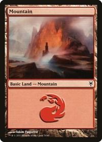 Mountain (76), Magic: The Gathering, Duel Decks: Sorin vs. Tibalt