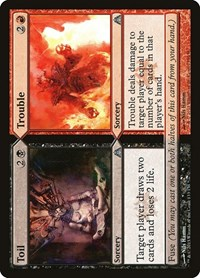 Toil // Trouble, Magic: The Gathering, Dragon's Maze